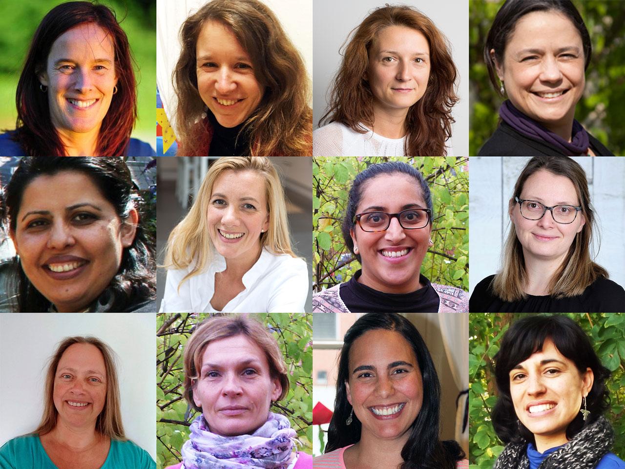 Aktive Frauen aus den Mütterzentren in Münster, Kamen und Grevenbroich